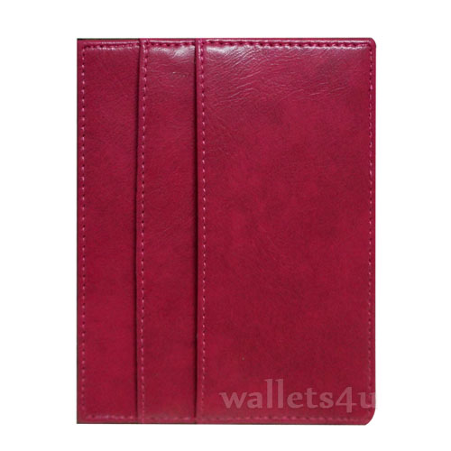 Magic Wallet, pink leather, multi card - MC0277